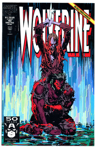 Wolverine #43  NEAR MINT-