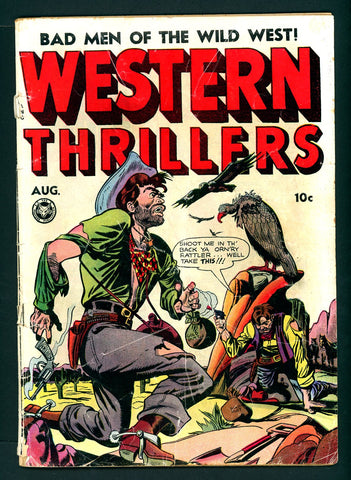 Western Thrillers #1   GOOD   1948 - Fox Publication