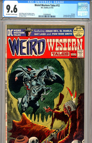 Weird Western Tales #12 CGC graded 9.6 first issue