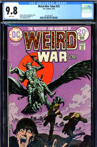 Weird War Tales #23 CGC graded 9.8  HIGHEST GRADED SOLD!