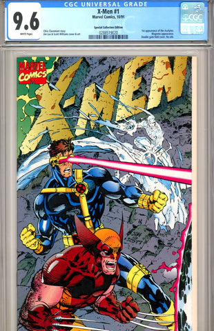 X-Men #1 CGC graded 9.6 Collectors Edition SOLD!