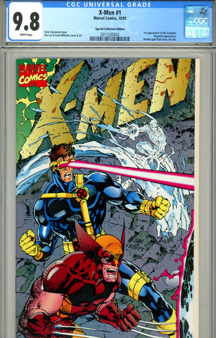 X-Men #1 CGC graded 9.8 Collectors Edition SOLD!