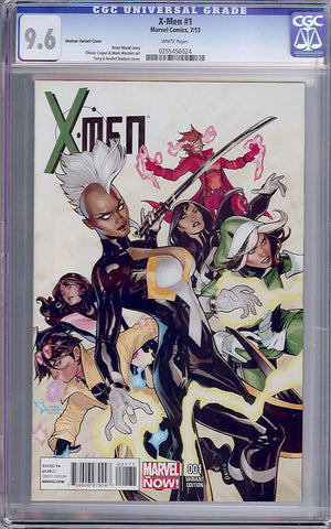 X-Men #1   CGC graded 9.6 - Dodson Variant Cover - SOLD!