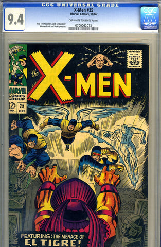 X-Men #025   CGC graded 9.4  SOLD!