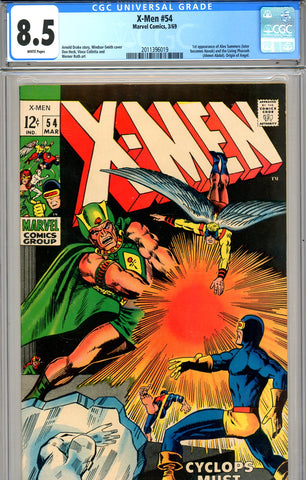 X-Men #054 CGC graded 8.5 first Alex Summers - SOLD!