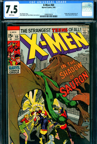 X-Men #060 CGC 7.5 Org/1st appearance of Sauron - SOLD!