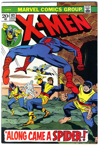 X-Men #063  VF/NEAR MINT   1973