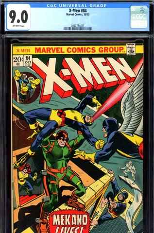 X-Men #084 CGC graded 9.0 SOLD!