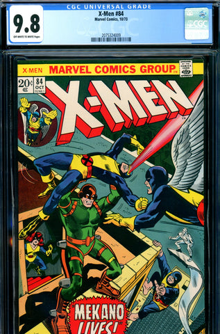 X-Men #084 CGC graded 9.8 HIGHEST GRADED