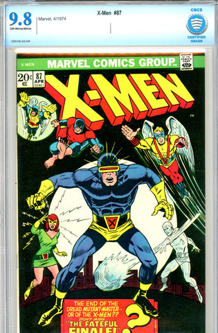 X-Men #087   CBCS graded 9.8  HIGHEST GRADED