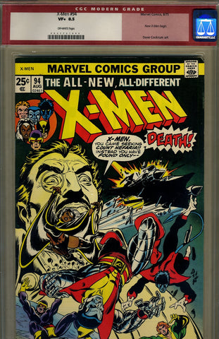 X-Men #094   CGC graded 8.5 - SOLD