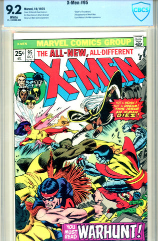 X-Men #095 CBCS graded 9.2  second issue of series