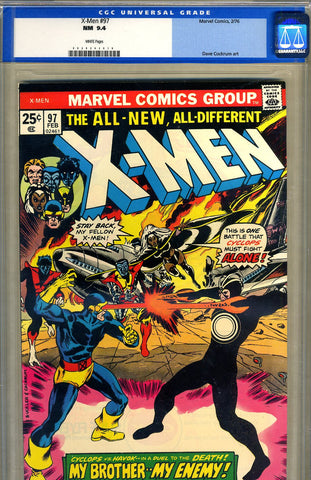 X-Men #097   CGC graded 9.4 - SOLD