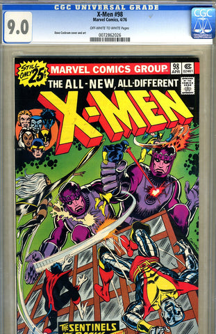 X-Men #098   CGC graded 9.0 - SOLD