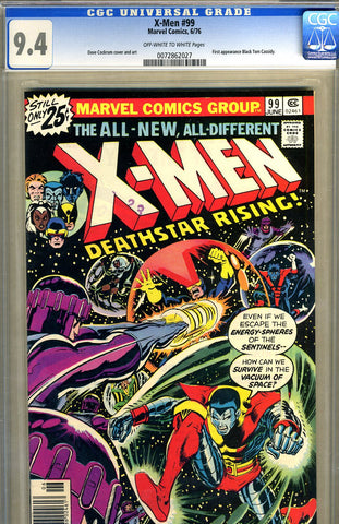 X-Men #099   CGC graded 9.4 first Black Tom Cassidy SOLD!