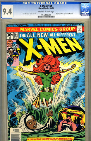 X-Men #101   CGC graded 9.4 - SOLD