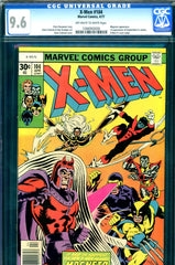 X-Men #104 CGC graded 9.6 - first Starjammers