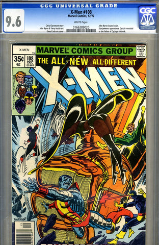 X-Men #108   CGC graded 9.6 - SOLD!