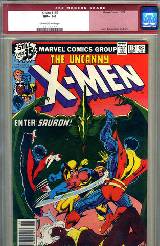 X-Men #115   CGC graded 9.6 - SOLD