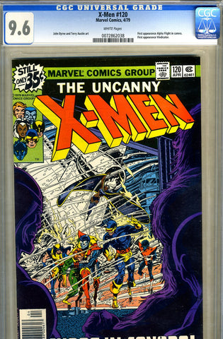 X-Men #120   CGC graded 9.6 - SOLD!