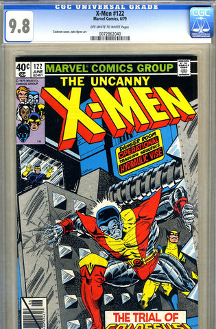 X-Men #122   CGC graded 9.8 - SOLD