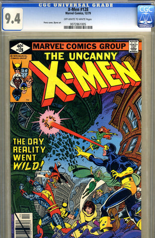 X-Men #128   CGC graded 9.4 - SOLD