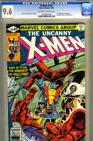 X-Men #129   CGC graded 9.6 - SOLD