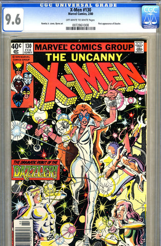X-Men #130   CGC graded 9.6 - SOLD