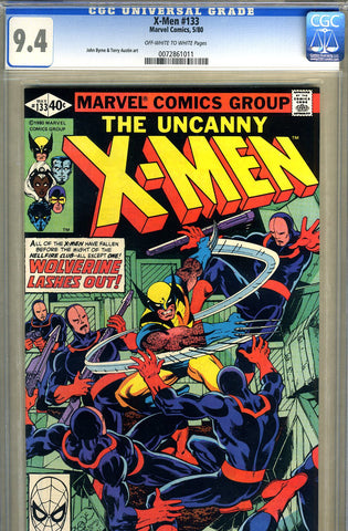 X-Men #133   CGC graded 9.4 - SOLD