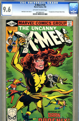 X-Men #135   CGC graded 9.6 - SOLD!