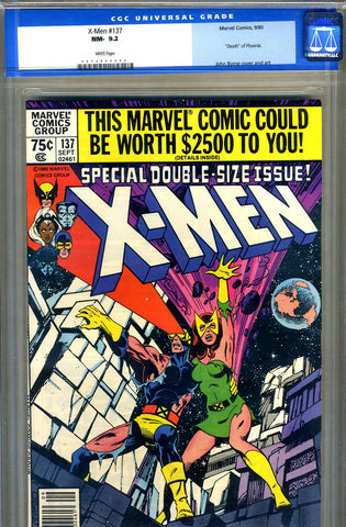 X-Men #137   CGC graded 9.2 - SOLD!