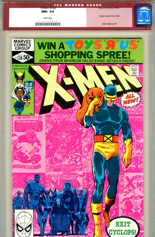 X-Men #138   CGC graded 9.6 Cyclops leaves the X-Men