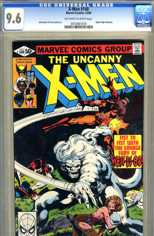 X-Men #140   CGC graded 9.6 - SOLD!