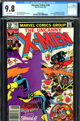 Uncanny X-Men #148 CGC graded 9.8 - first Caliban SOLD!