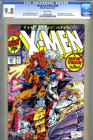 Uncanny X-Men #281   CGC graded 9.8 - SOLD!