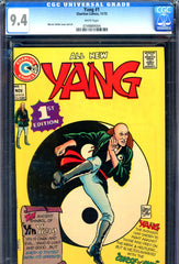 Yang #1 CGC graded 9.4 - white pages