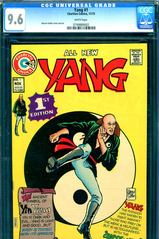 Yang #1 CGC graded 9.6 - white pages - SOLD!
