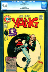 Yang #1 CGC graded 9.6 - white pages