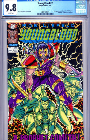 Youngblood #2  CGC graded 9.8 -HIGHEST GRADED- 1st Shadowhawk - SOLD!