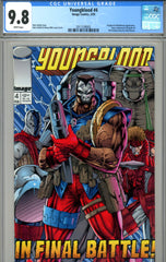 Youngblood #4 CGC graded 9.8 HIGHEST GRADED