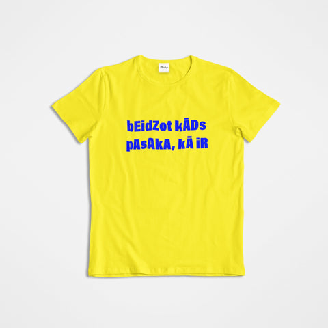 BEIDZOT YELLOW T-SHIRT
