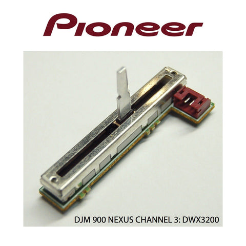 Pioneer DJM 900 Nexus Replacement Fader Channel 3: DWX3200