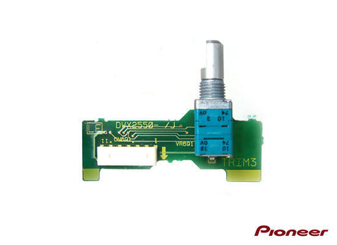 Pioneer DJM 800 Channel 3 Trim Adjust Assembly Part no: DWX2550
