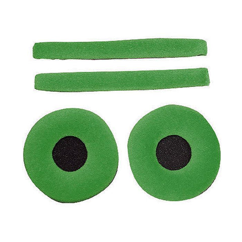 Zomo - Replacement earpads & headband pad set for Sennheiser HD25 headphones Cactus (Green velour)