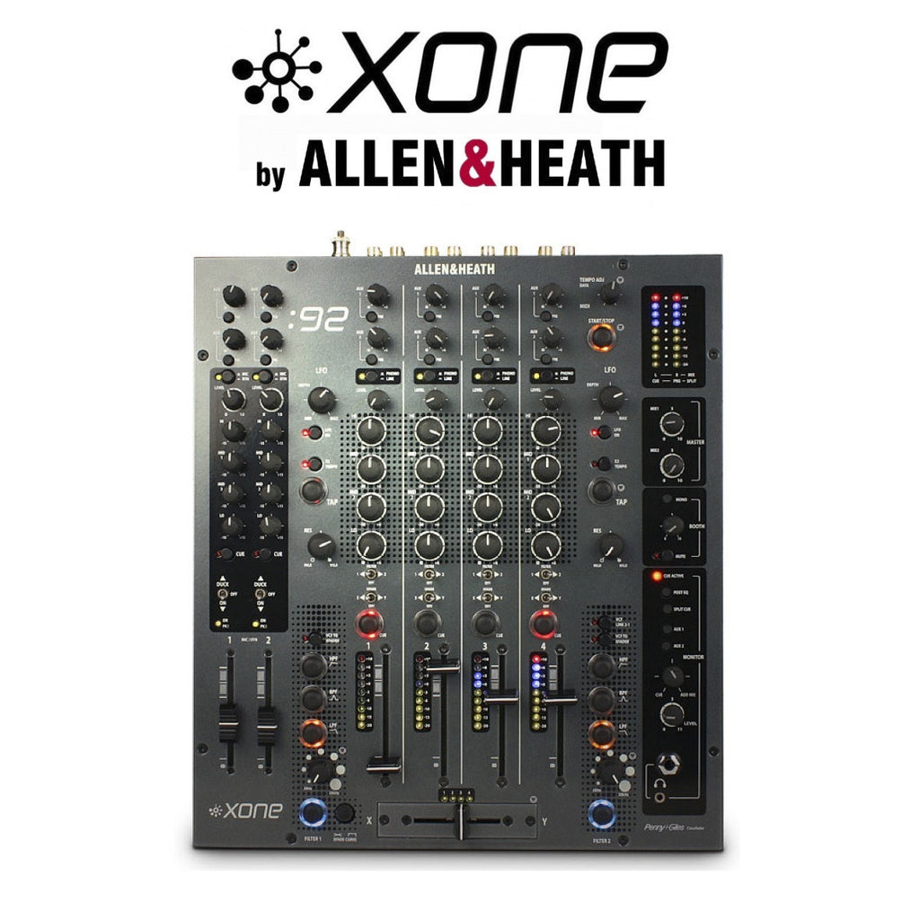 Allen Heath Xone 92 6 Channel Dj Mixer Bounce Audio