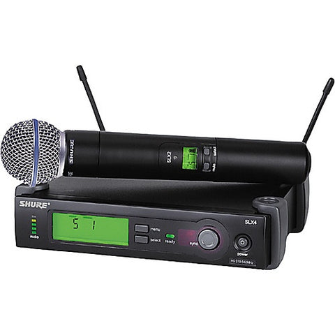 HIRE Shure SLX24/Beta58 Wireless Microphone