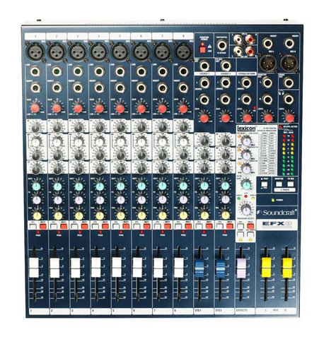 HIRE Soundcraft EFX8 Mixing Desk
