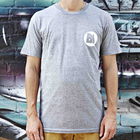 Bounce Audio T-shirt Grey