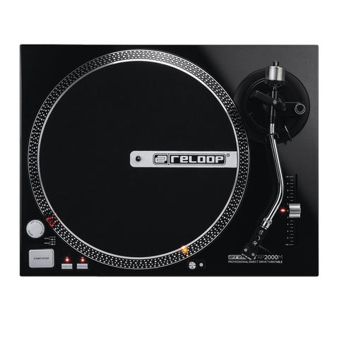 Reloop RP2000M Direct Drive Turntable With Cartridge & Stylus