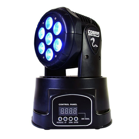 HIRE Cobra Wash 200 Moving head FX light